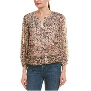 Velvet by Graham and Spencer Floral Suzanne Blouse